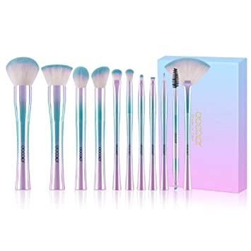phongs 11pcs make up brush set best christmas gift powder foundation eyeshadow make up brushes cosmetic