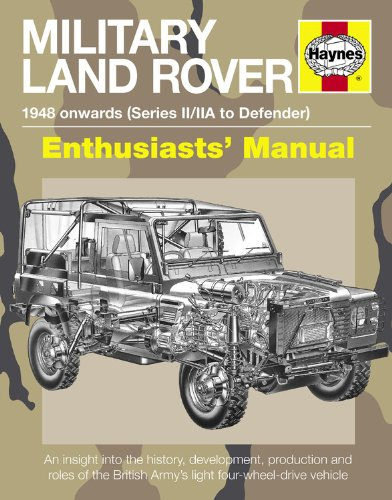 Read Online Military Land Rover: 1948 Onwards (Series II/IIA to Defender) (Enthusiasts' Manual) PDF