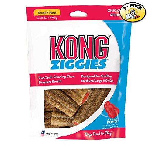 KONG Stuff'N Ziggies Small Dog Treat, 7-Ounce