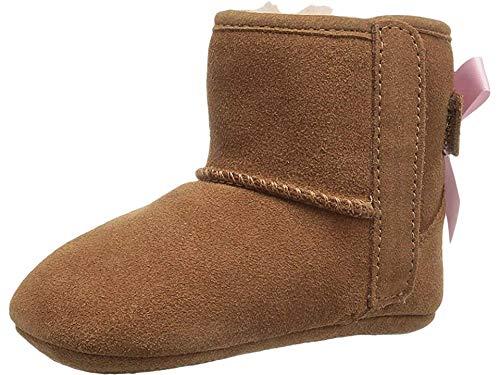 UGG Girls' I Jesse Bow II Fashion Boot, Chestnut, 4/5 M US Toddler (Boots Ugg Toddler)