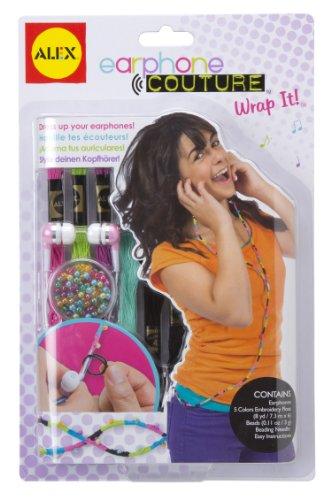 ALEX Toys Do-it-Yourself Wear Wrap Around Earphones - Wrap Around Headphones Ipod
