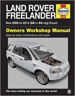 manual land rover freelander 2