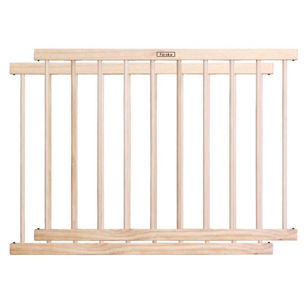 固体木製子供用フェンシング,フェンシング和風赤ちゃん 室内断熱犬クレート 防護柵 安全ベビー安全庭園で網-D B07CVSTCYW D D