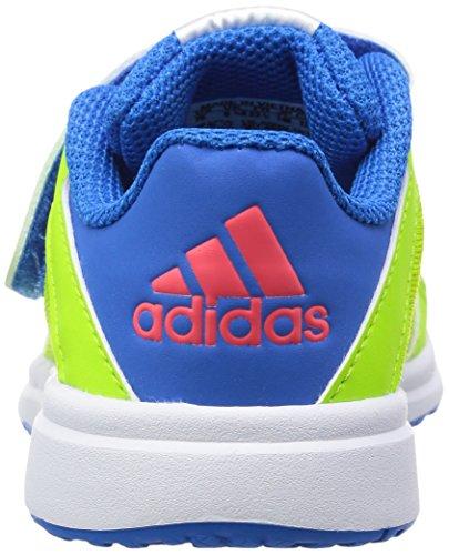 adidas Snice 4 Cf I, Zapatos (1-10 Meses) Unisex Bebé Verde / Rojo / Azul (Seliso / Rojimp / Azuimp)