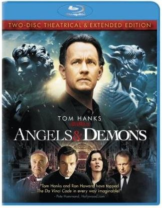 Angels & Demons (Two-Disc Theatrical & Extended Edition with Bonus Audiobook CD) [Blu-ray]