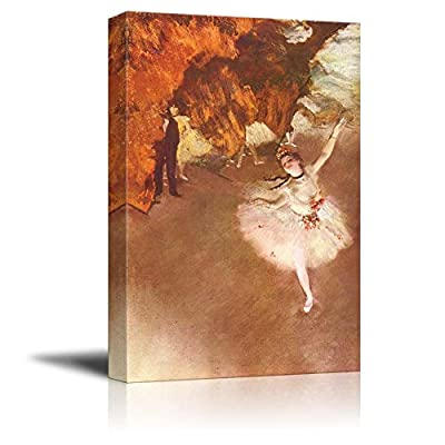 Prima Ballerina by Edgar Degas - Canvas Print Wall Art Famous Painting Reproduction - 12