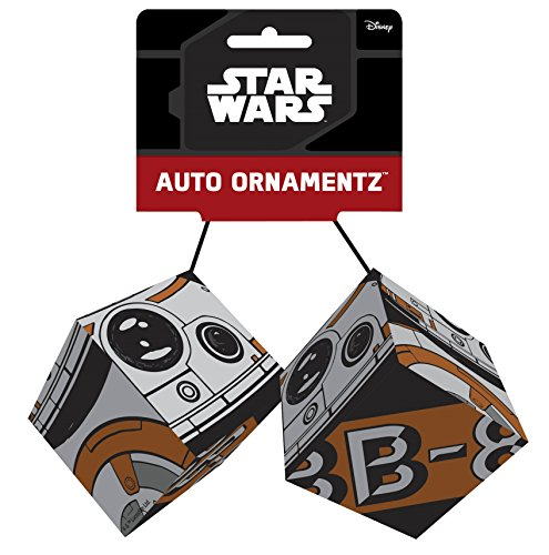 CHROMA 048024 BB-8 Plush Auto Ornament