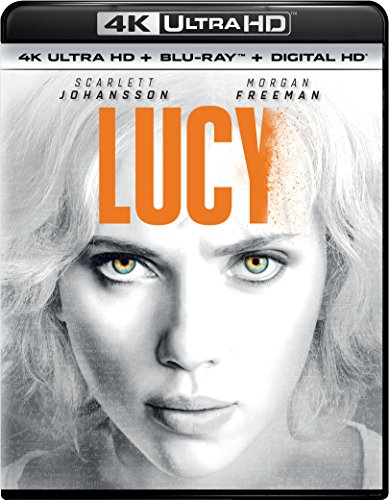 4K Blu-ray : Lucy (Ultraviolet Digital Copy, 4K Mastering, 2 Pack, Snap Case, Slipsleeve Packaging)
