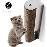 Scurrty Wall Mounted Cat Scratching Post Replaceable Natural Sisal Suitable for Most Wall Types 3.6 x 2.8 x 17.8 in