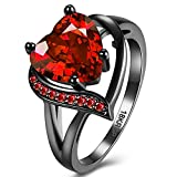 Best Chronicle Books Friends Moms - FENDINA Women's 18K Black Gold Plated Wedding Engagement Review