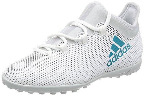 adidas Jungen X Tango 17.3 TF J Fußballschuhe, Weiß Weiß (Ftwbla / Azuene / Negbas)