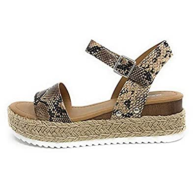 Amazon.com   Yuren Snow Wedges Shoes Women Sandals High