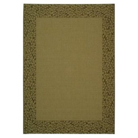 Safavieh Courtyard Collection CY0727-3001 Natural and Brown Indoor/Outdoor Area Rug (2'7