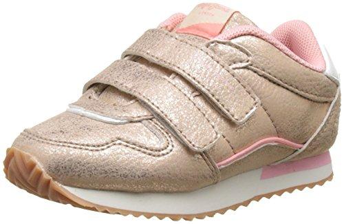 Pepe Jeans London Mädchen Sydney Metal Kids Sneaker Pink (Pink)