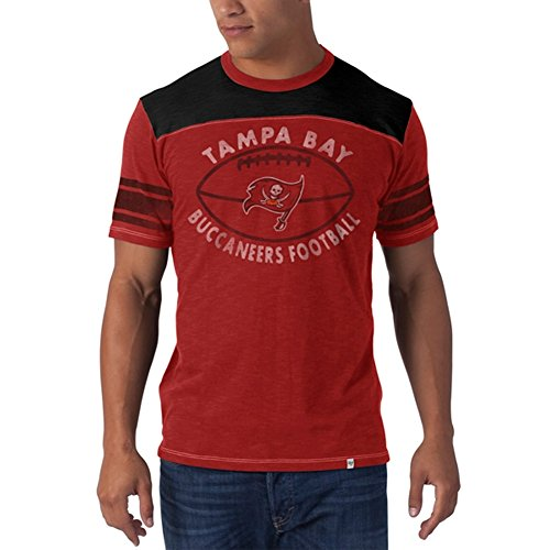 Tampa Bay Buccaneers Rocks (NFL Tampa Bay Buccaneers Men's Halfback Tee, Large, Rescue Red)