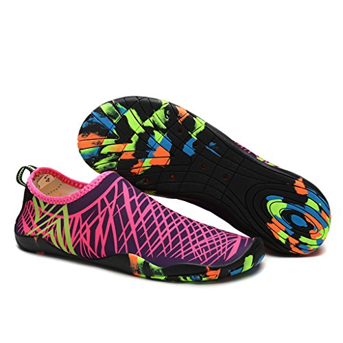 da Scarpe Shoes Water Scarpe Pelle Sandali Spiaggia Giardini Rose Acqua Scarpe Donna DoGeek Uomo Pantofole Sandali Ciabatte XUxq4U5Pw