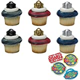 Amazoncom Teenage Mutant Ninja Turtles Cupcake Wrapper Pick