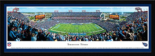 (Tennessee Titans - 50 Yard - Day - Blakeway Panoramas NFL Posters with Select Frame)