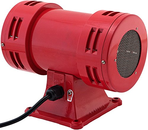 Vixen Horns Loud 113dB Industrial Electric Motor Driven Alarm/Siren (Air Raid) 120V VXS-1050AR