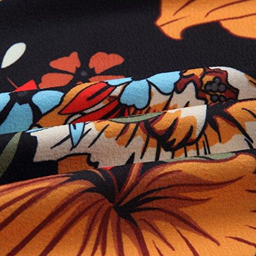 Solike Abendkleid Shoulder Damen Sommer Strandkleid Schlank Schwarz Frauen Partykleider Blumendruck Off Schulterfreies Sommerkleid