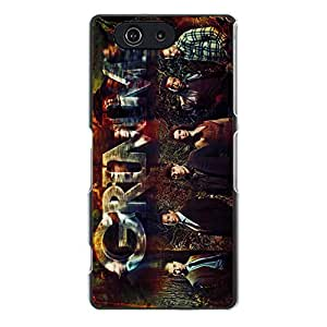 Unique Design NBC TV Series Grimm Phone Case Hard Cover for Sony Xperia Z3 Compact / Z3 Mini New Arrival