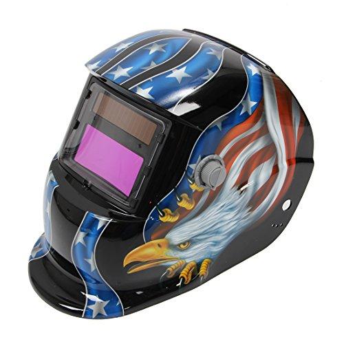Welding Helmet - SODIAL(R) Solar Auto Darkening Welding Helmet Mig Tig Arc...