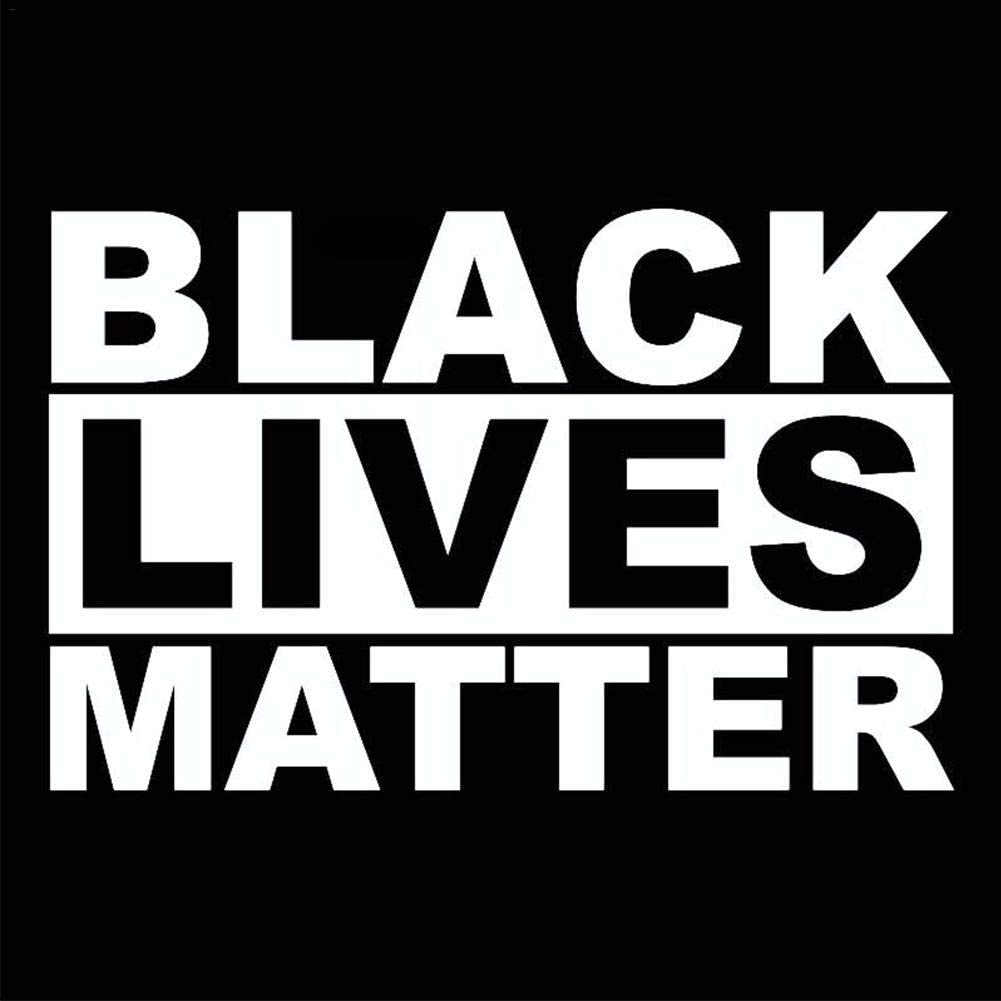Black Lives Matter Self-Adhesive Car Window Laptop Sticker Anti-Racism BLM Movement Wall Decals Black Lives Matter Decal Vinyl Bumper Sticker Anti-Racism Decal Paste seawe Black Lives Matter Sticker