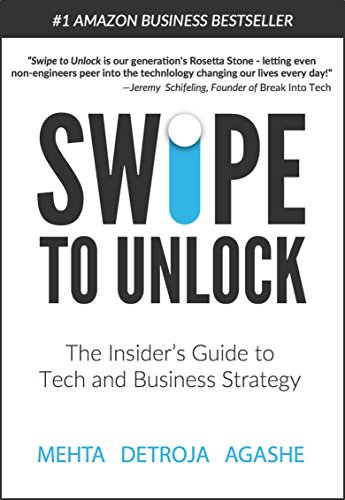 Amazon swipe to unlock the insiders guide to tech and swipe to unlock the insiders guide to tech and business strategy by detroja fandeluxe Choice Image