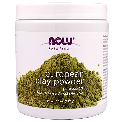 Now Foods, European Clay Powder, 14 oz (397 g) - 2PC