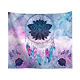 ANBR Tarpaulin Background Wall Hanging Cloth Tapestry Flower Pattern Wave Backdrop Tarpaulin 40x60 inch