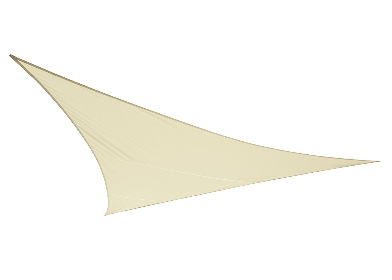Kookaburra–Toldo impermeable de tejido, forma triangular, color marfil Primrose