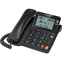 Black Big Button Home Desk Phones