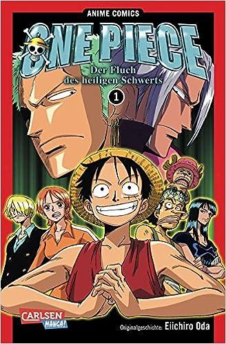 One Piece Fluch Des Heiligen Schwerts 1 Anime Comics Amazonde Eiichiro Oda Jump Bucher