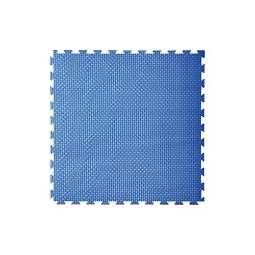 2 opinioni per Toorx- Tatami ad incastro 100x100x2 cm. con 2 bordi rosso-blu superficie