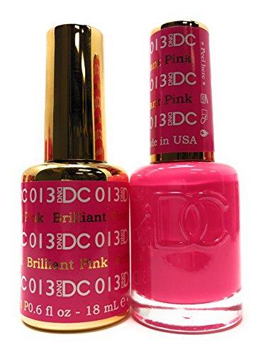 DND DC Duo Gel + Polish - 013 Brilliant Pink