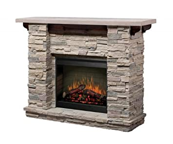 Lovely Dimplex Featherston Electric Fireplace Mantel Package   GDS26 1152LR