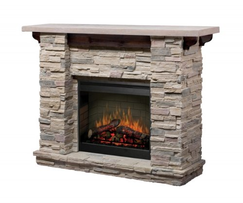 Amazoncom Dimplex Featherston Electric Fireplace Mantel Package