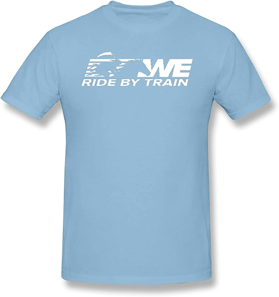 Grace Ride By Train Leisure Sky Blue With Short Sleeve 3168 Shirts