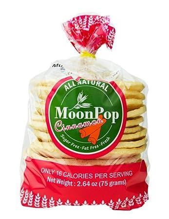 moonpop pasteles de arroz – Bolsas de canela Sabor, 12, 16 ...