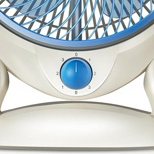 MMM Tafelventilator, automatische ventilator stille mini-ventilator, tafelventilator voor studenten, thuis, slaapzaal, kantoor en bureau (3 snelheden) VmK2qhCa