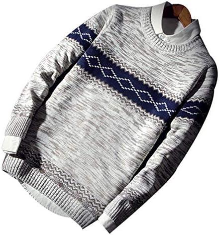 YULUOメンズ ニット セーターメンズニット 秋冬 大きいサイズ カジュアル ニット セーター