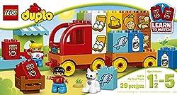 LEGO DUPLO My First Truck 10818, Preschool, Pre-Kindergarten Large Building Block Toys for Toddlers