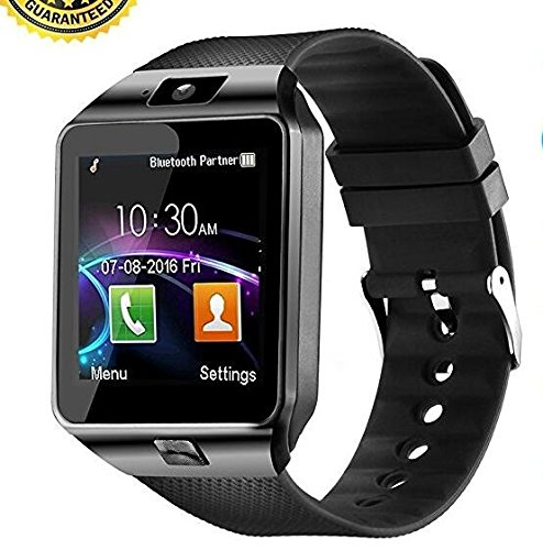 742f0d987f38 DZ09 Bluetooth Smart Watch Touch Screen with Camera and SIM Card TF SD Card  Slot