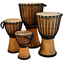 "Djembe Bamboo, 24"" tall, 14"" head"