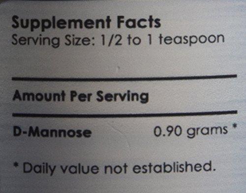 Now new UTI-Slip D Mannose Non GMO Organic Source Powder 65g jar Photo #6