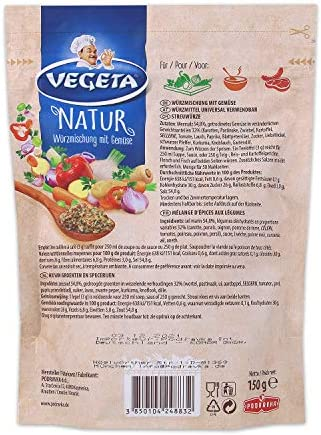 Podravka Vegeta Natur Condimento De Alimentos Para Peces 30 g Bolsa: Amazon.es: Alimentación y bebidas