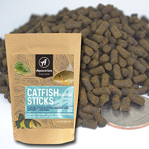 YFS Catfish Shrimp Sticks Pellets Tropical Bulk Bottom Feeder Fish Food 1/2 LB