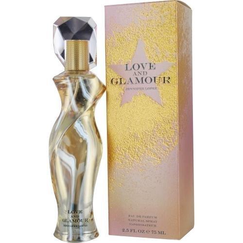 LOVE AND GLAMOUR by Jennifer Lopez EAU DE PARFUM SPRAY 2.5 OZ for WOMEN ()