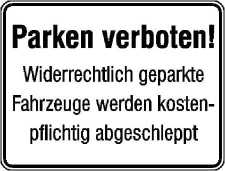 4359. Aparcamiento etiquetado/cartel de prohibido aparcar ...