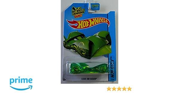 Amazon.com: Hot Wheels Treasure Hunt HW City Cloak And Dagger Green #77/250: Toys & Games
